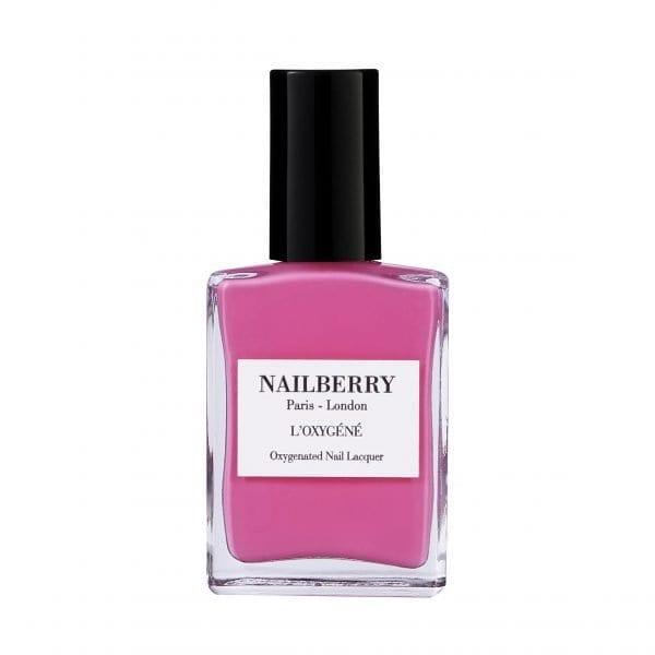Nailberry Pink Tulip naglalökk eru eiturefnalaus & umhverfisvæn